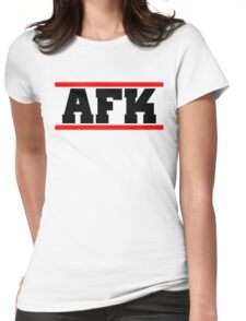 Afk Womens Fitted T-Shirt