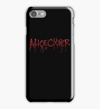 alice cooper logo iPhone Case/Skin
