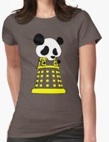 Panda  Robot Womens Fitted T-Shirt