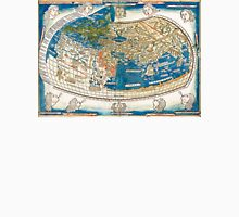 4th edition of Ptolemy's Cosmographia  by Leinhart Holle, dated 1482 Unisex T-Shirt