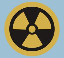 Yellow Radioactive Kids Tee