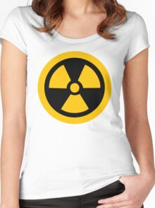 Yellow Radioactive Women's Fitted Scoop T-Shirt