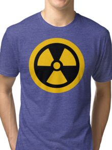 Yellow Radioactive Tri-blend T-Shirt