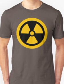 Yellow Radioactive Unisex T-Shirt
