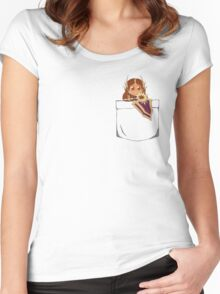 League of Legends: Leona Pocket Women's Fitted Scoop T-Shirt