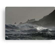 Trial Harbour Fury Canvas Print