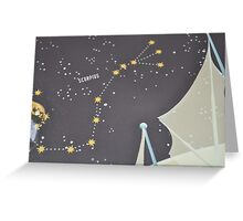 Scorpius the strong sign Greeting Card