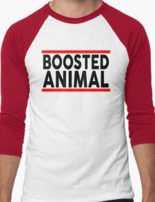 Boosted Animal Men's Baseball ¾ T-Shirt
