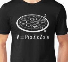 Pizza Equation Unisex T-Shirt