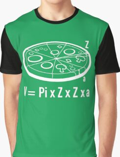 Pizza Equation Graphic T-Shirt