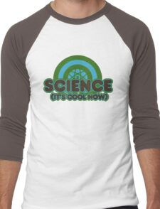 Science it's cool now Men's Baseball ¾ T-Shirt