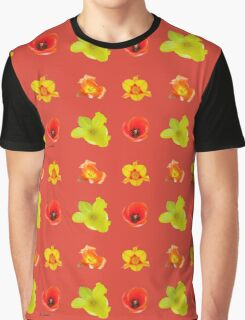 Tulipes sur fiesta Graphic T-Shirt
