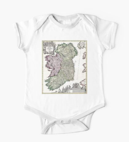Ireland - Geographicus Ireland - Homann - 1716 One Piece - Short Sleeve