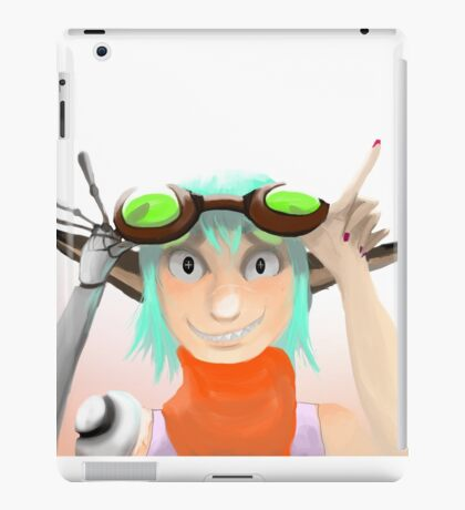 Green Goggles  iPad Case/Skin