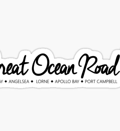 Great Ocean Road - Australia Sticker