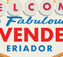 Welcome to Rivendell Sticker