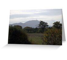 The Wrekin in Autumn, Telford Shropshire Greeting Card