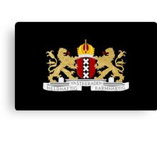 Coat of arms of Amsterdam Canvas Print