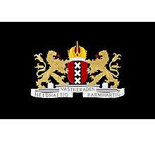 Coat of arms of Amsterdam Photographic Print