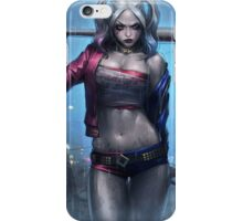 harley quinn suicide squad iPhone Case/Skin