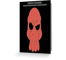 House Zoidberg Greeting Card
