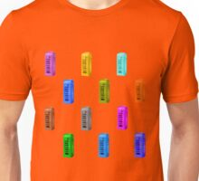 Phone booth on fiesta background Unisex T-Shirt