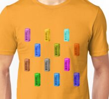 phone booth on buttercup background Unisex T-Shirt