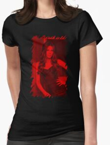 Kate Beckinsale - Celebrity Womens Fitted T-Shirt