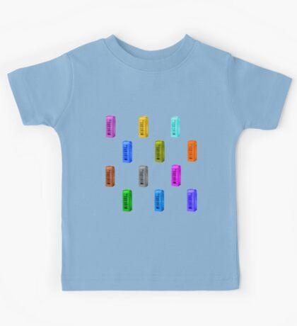 Phone booth on serenity background Kids Tee