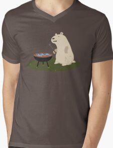 Bear Grills Mens V-Neck T-Shirt
