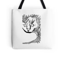 Leaf Cat Tote Bag