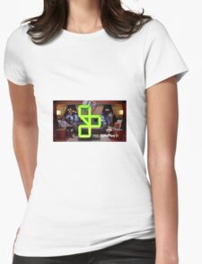 Let's Play: Gus on the Podcast Womens Fitted T-Shirt