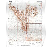 USGS TOPO Map Arizona AZ Childs Mountain 310851 1996 24000 Poster