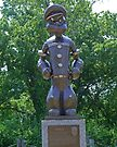 Popeye, Chester, Illinois, USA by Margaret  Hyde