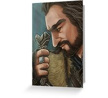 The Hobbit - Thorin Oakenshield Greeting Card