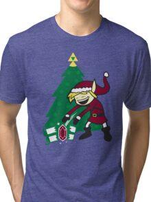 kid santa Tri-blend T-Shirt