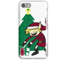 kid santa iPhone Case/Skin