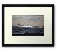 Atlantic City View Framed Print