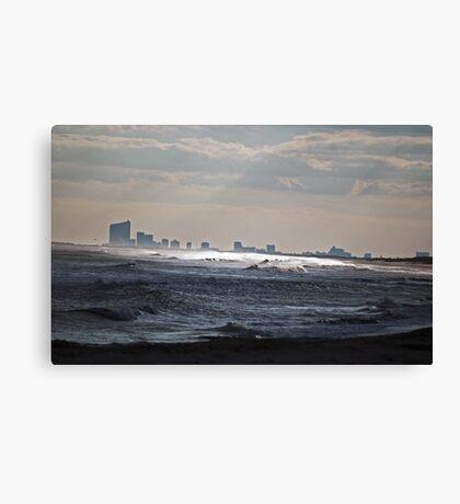 Atlantic City View Canvas Print