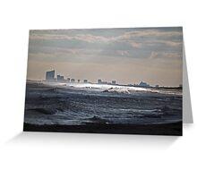 Atlantic City View Greeting Card