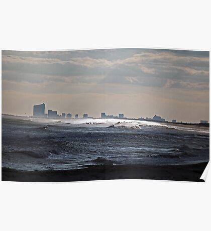 Atlantic City View Poster