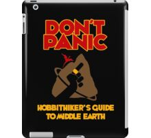 Hobbithiker's Guide to Middle Earth iPad Case/Skin