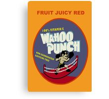 Wahoo Punch 2 Canvas Print