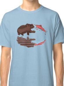salmon eat bear Classic T-Shirt