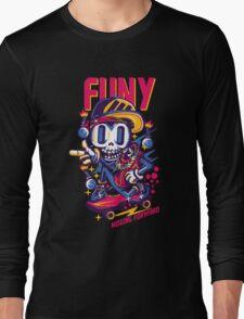 skull go skate Long Sleeve T-Shirt