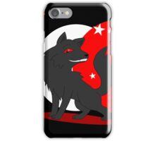 Big and Not so Bad Wolf iPhone Case/Skin