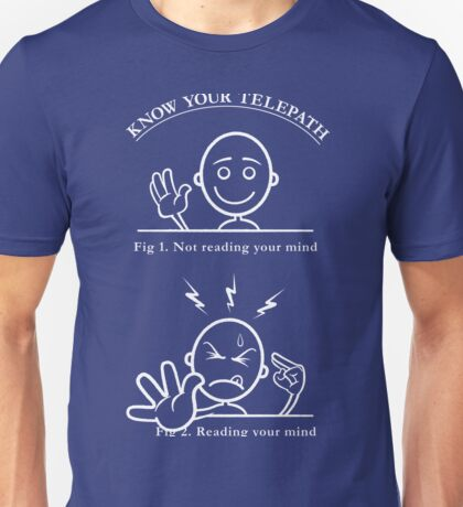Know Your Telepath Unisex T-Shirt