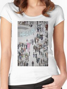 Mass Effect: Bar in Heaven (Femshep) Women's Fitted Scoop T-Shirt
