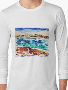 Bondi in Abstract  Long Sleeve T-Shirt