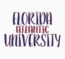 Florida Atlantic University Baby Tee